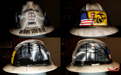 Transmission Survery hard hat