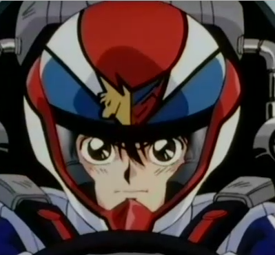 anime racing helmet