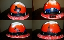 west texas custom airbrushed hard hat