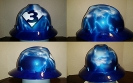 Super 3 hard hat with lightning background